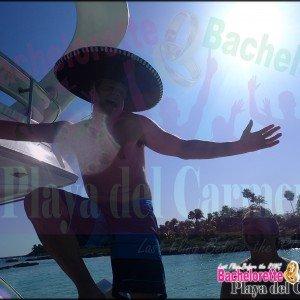 Playa del Carmen Bachelorette, Yachting Playa del Carmen