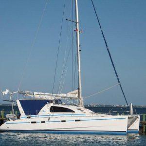 Luxury small catamaran Riviera Maya